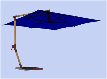 persp umbrella 4x4 guss direct