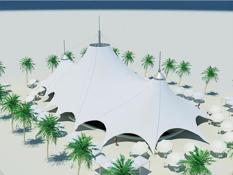 3-х конусный шатер